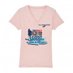 T-shirt Col V Femme Ultra...